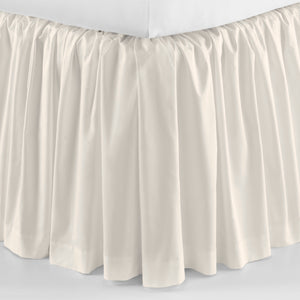 Peacock Alley Soprano Ruffled Bedskirt