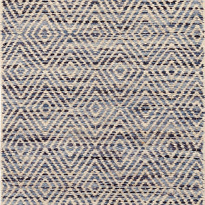 Dash and Albert Jewel Blue Jute Woven Rug - Lavender Fields