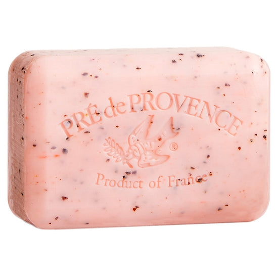 Pré de Provence Shea Enriched French Soap Bar - Juicy Pomegranate 250g - Lavender Fields