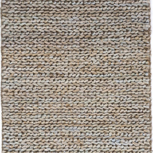 Dash and Albert Jute Woven Seaglass Rug - Lavender Fields