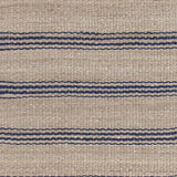 Dash and Albert Jute Ticking Indigo Woven Rug