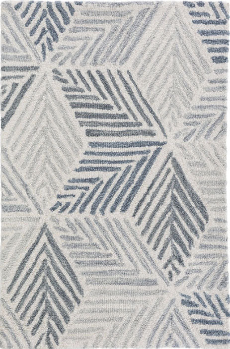 Dash and Albert Karari Hooked Wool Rug - Lavender Fields