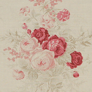 Kate Forman Roses Fabric - Lavender Fields