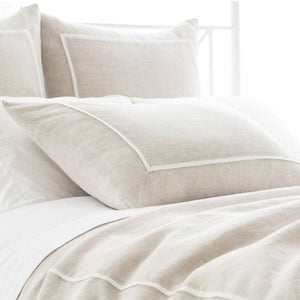 Pine Cone Hill Keaton Linen Natural Duvet Cover