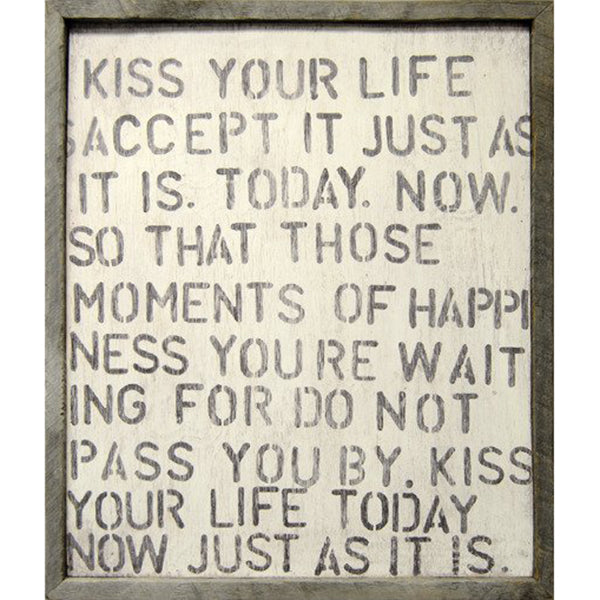 Sugarboo Designs Kiss Your Life Art Print