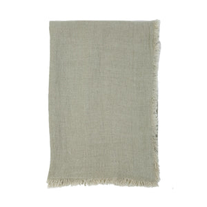 Pom Pom at Home Laurel Pale Olive Oversized Throw - Lavender Fields