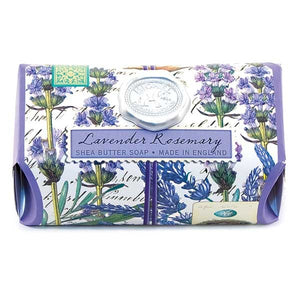 Lavender Rosemary Large Bath Soap Bar - Lavender Fields