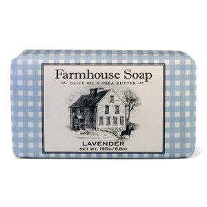 Lavender Farmhouse Triple Milled Soap - Lavender Fields