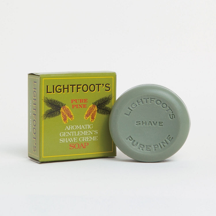 Lightfoot Shave Soap - Lavender Fields
