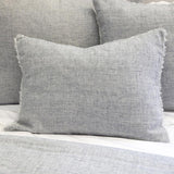 Pom Pom at Home Logan Navy Sham - Lavender Fields