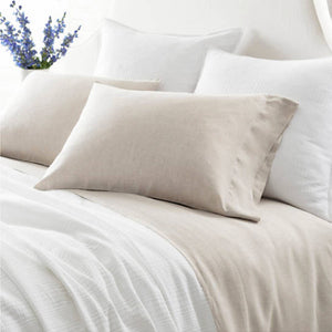 Pine Cone Hill Lush Linen Natural Sheet Set