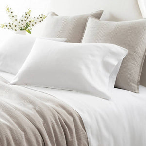 Pine Cone Hill Lush Linen White Sheet Set