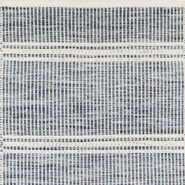 Dash and Albert Malta Blue Woven Wool Rug