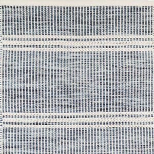 Dash and Albert Malta Blue Woven Wool Rug - Lavender Fields
