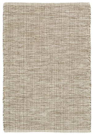 Dash and Albert Marled Brown Woven Cotton Rug