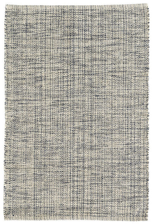 Dash and Albert Marled Indigo Woven Cotton Rug