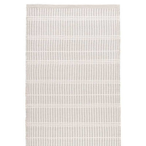 Dash and Albert Marlo Platinum Indoor/Outdoor Rug