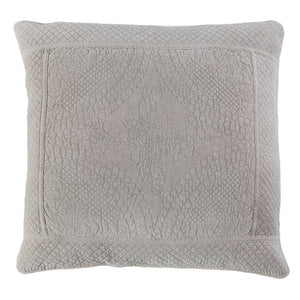 Pom Pom at Home Marseille Taupe Large Euro Pillow Sham - Lavender Fields