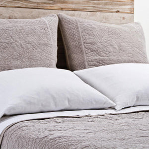 Pom Pom at Home Marseille Taupe Coverlet