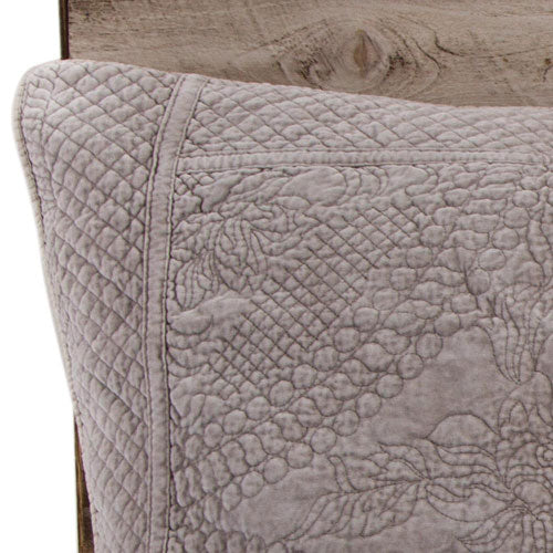 Pom Pom at Home Marseille Taupe Coverlet - Lavender Fields