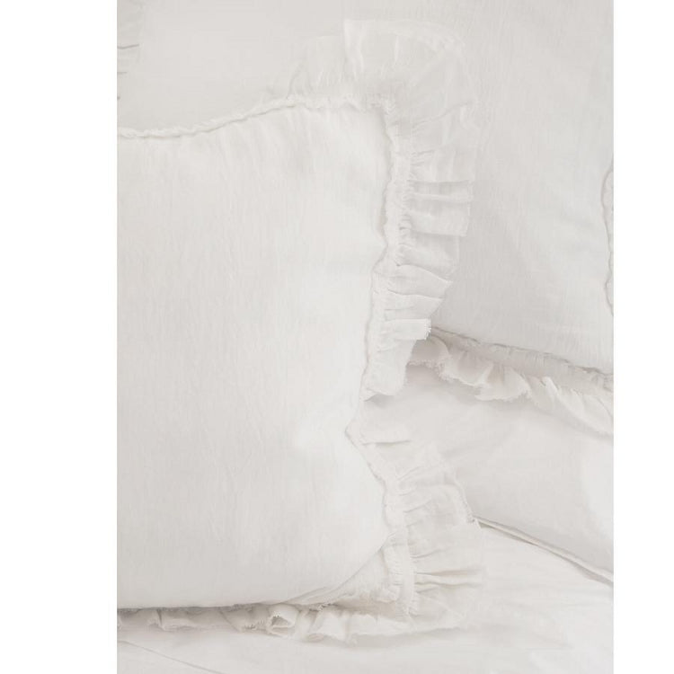 Pom Pom at Home Mathilde White Duvet Cover