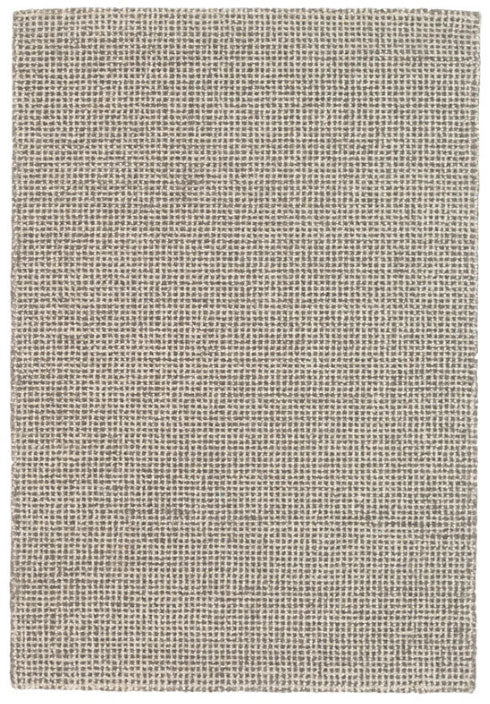 Dash and Albert Matrix Grey Wool Tufted Rug