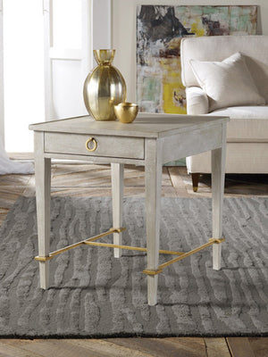 Modern History Modernist End Table - Lavender Fields
