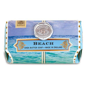 Beach Large Bath Soap Bar - Lavender Fields