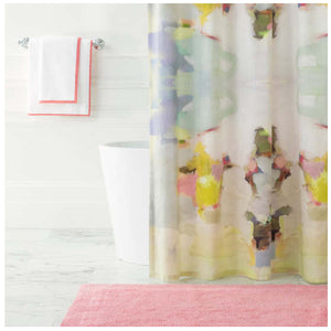 Pine Cone Hill Milan Shower Curtain - Lavender Fields