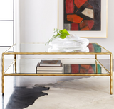 Modern History Organic Square Cocktail Table