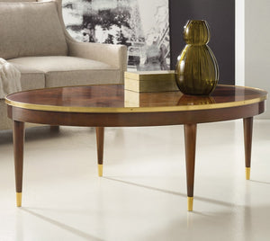 Modern History Oval Cocktail Table