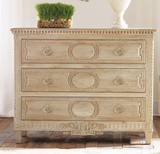 Modern History Weathered Oak Chest - Lavender Fields