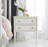 Modern History Covington Bedside Chest - Lavender Fields