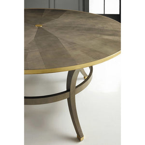 Modern History Infiniti Dining Table-Grey Sycamore - Lavender Fields