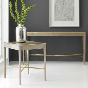 Modern History Large Georgian Console-Grey Sycamore - Lavender Fields