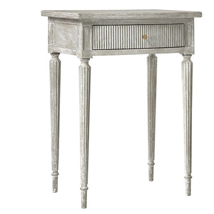 Modern History Ribbed Nightstand - Lavender Fields