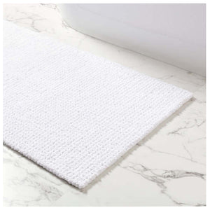 Pine Cone Hill Modesto White Bath Rug - Lavender Fields