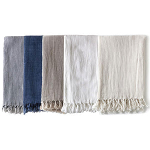 Pom Pom at Home Montauk Blanket - Cream