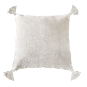 Pom Pom at Home Montauk Pillow with Tassels - Cream - Lavender Fields