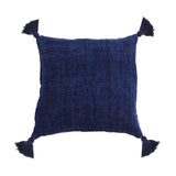 Pom Pom at Home Montauk Pillow with Tassels - Indigo - Lavender Fields