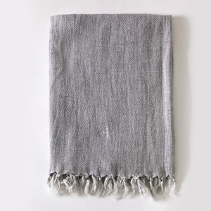 Pom Pom at Home Montauk Throw - Ocean - Lavender Fields
