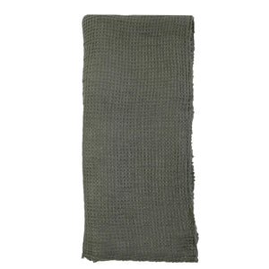 Pom Pom at Home Venice Oversized Throw - Moss
