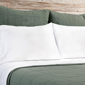Pom Pom at Home Antwerp Moss Coverlet