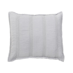 Pom Pom at Home Nantucket Grey Sham - Lavender Fields