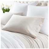Pine Cone Hill Comfy Cotton Natural Pillowcases - Lavender Fields
