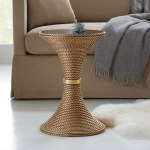 Somerset Bay Transitions Nautical End Table - Lavender Fields