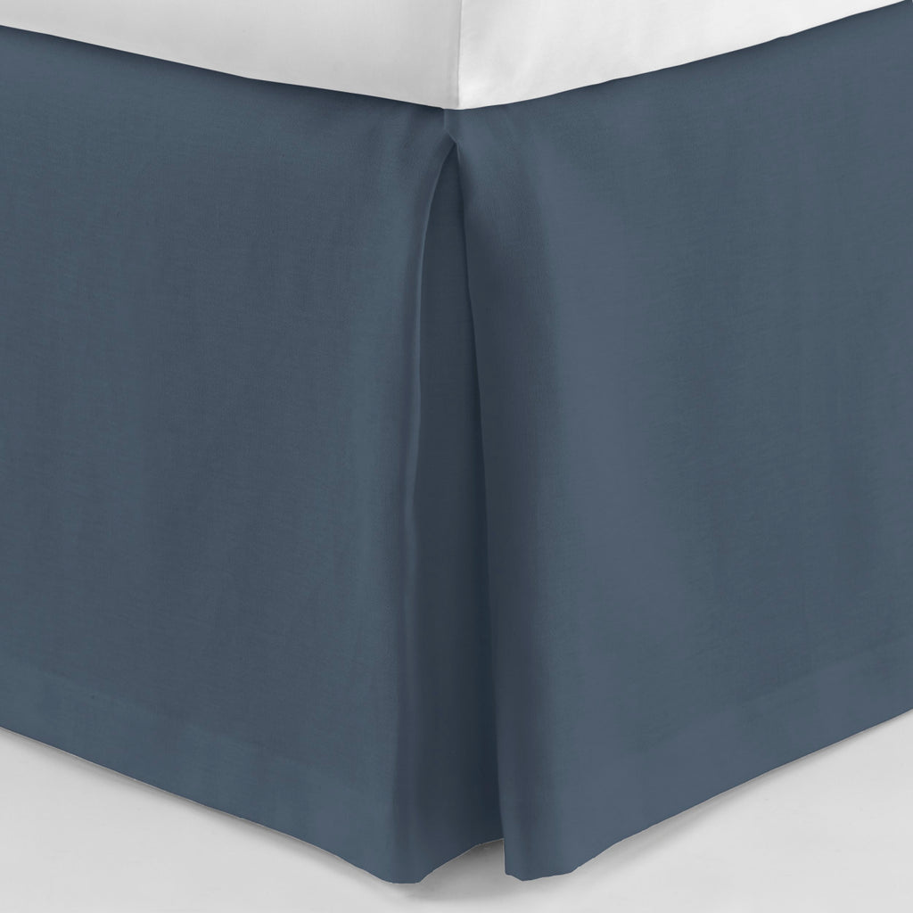 Peacock Alley Rio Linen Bedskirt - Lavender Fields