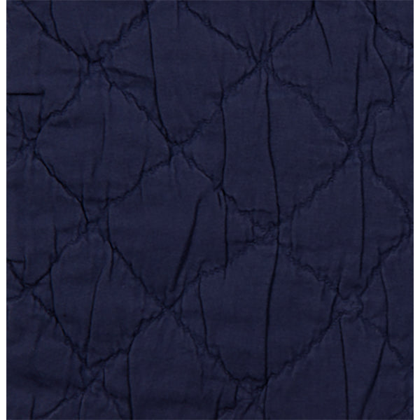 Traditions Linens Louisa Navy Sham - Lavender Fields