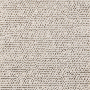 Dash and Albert Niels Ivory Woven Wool/Viscose Rug
