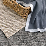 Dash and Albert Niels Latte Woven Wool/Viscose Rug - Lavender Fields